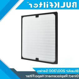1|2|3|4pk Replacement Hepa Filters for BlueAir 200/300 Serie