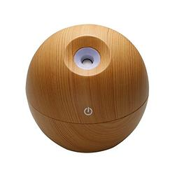 YSF 130mhl Wood Grain Ultrasonic Cool Mist Humidifier for Of