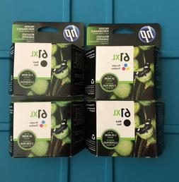 HP 61XL Black &  61XL Tri-Color  Pack Sealed Expiration 202