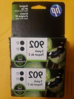 -HP 902 Black Two Pack Twin Double Inkjet Cartridges Retail