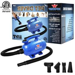 2 HP Pet Dryer and Vacuum
