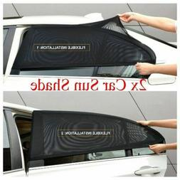 2 Pack Auto Sun Shade Window Screen Cover Sunshade Protector