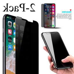 2-Pack Privacy Anti-Spy REAL Tempered Glass Screen Protector