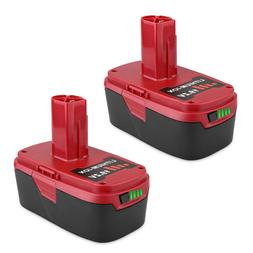2 Pack 19.2V 5.0Ah Li-Ion Replacement Battery for Craftsman