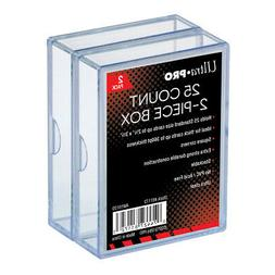 Ultra Pro 2 Piece Plastic Card Storage Box  Slider Box