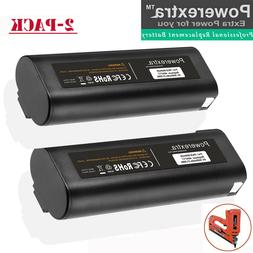 2 pack 3000mah battery for paslode 404717