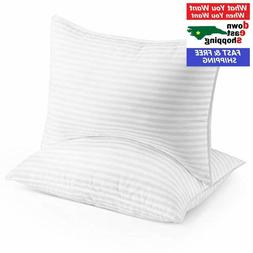 2 pack beckham hotel collection gel pillow