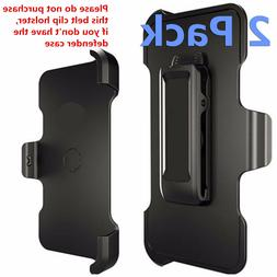 2 Pack Belt Clip Holster Replacement For iPhone 5 6 7 8 X De