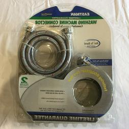 Eastman 2-Pack braided Stainless Steel Washing Machine Conne