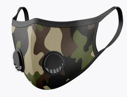 2 Pack Canvas 95 3MStyle Face Mask Airinium Camo Breathable