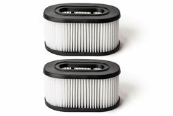 2 Pack for Hoover Type 50 HEPA Vacuum Filter 40130050, 43615