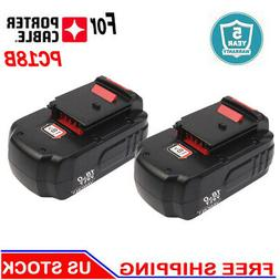 2-Pack For Porter Cable 18V NiCD Battery PC18B PC188 PC18BL