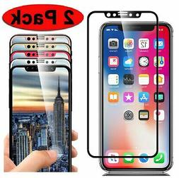 2 pack full coverage 3d tempered glass