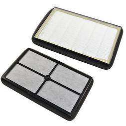2-Pack HQRP HEPA Filter A for GermGuardian AC4010 AC4020 Tab