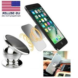 1/2 Pack Magnetic 360° Car Dash Mount Ball Dock Holder For