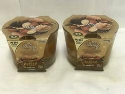 2 Pack NEW GLADE 3 WICK CANDLE NUTCRACKER DELIGHT 6.8 OZ 3 w