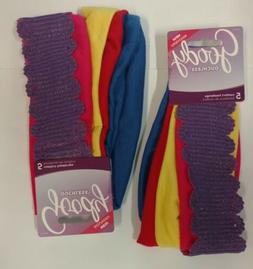 2/Pack - Goody Ouchless Comfort Headwraps, 10 Wraps - Colors