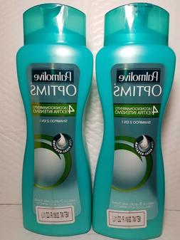 2 pack palmolive optims shampoo extra intensive