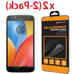 2-Pack Premium Screen Protector Tempered Glass Film For Moto