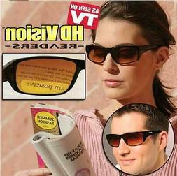 2 Pack HD Vision Readers Bifocal Sunglasses As Seen on TV Ch
