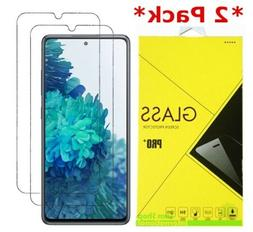 2-Pack Real Premium Tempered Glass Screen Protector Film Cov