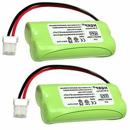 2-Pack HQRP Rechargeable Battery for AT&T C/E/TL CRL Series