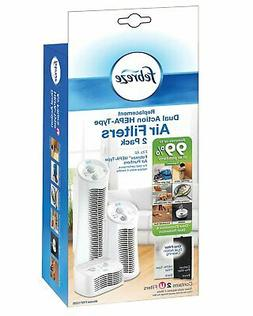 2 Pack  Dual Action Filter For Febreze HEPA-Type Air Purifie