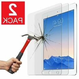 2-Pack Tempered Glass Screen Protector for iPad 9.7 Pro 5th