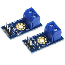 2 Pack Voltage Sensor DC 0V - 25V for Arduino