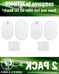 2 Pack XFFH400 Foam and Felt Vacuum Filter Kit. Genuine Gree