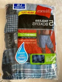 2 packs of men s large boxers