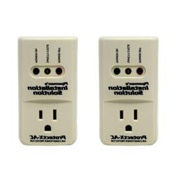 2 pc AC Surge Brownout Voltage Protector 3600W Air Condition