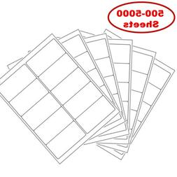 """2"""" x 4"""" Shipping Address Labels for Laser Ink Jet Adhesive 1"""