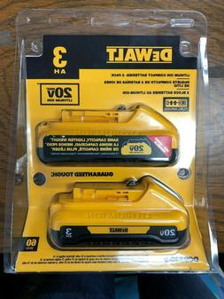DeWalt 20V Lithium Ion Compact Batteries DCB230-2
