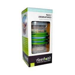 Fit & Fresh 224ff Smart Portion Chilled Containers 4 Piece S