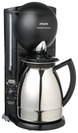 Krups 229-45 Aroma Control 10-Cup Coffeemaker with Thermal C