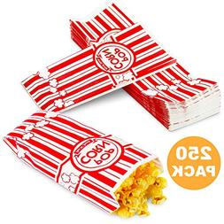 2 oz Popcorn Bags - Disposable Popcorn Containers Paper Pop