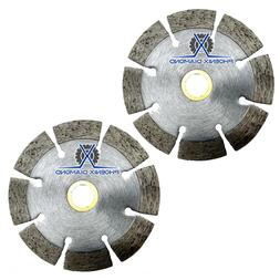 """2Pack 4"""" Wet/Dry Diamond Saw Blade All Purpose for Concret"""