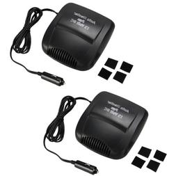 2Pack Car Vehicle Portable Ceramic Heater Heating Cooling Fa