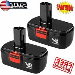 2Pack For Craftsman 19.2 Volt Battery C3 DieHard 130279005 1