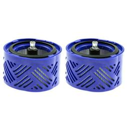2Pack HEPA Post Motor Filter Parts Assembly for Dyson V6 DC5