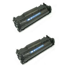 2pk new toner for hp 12a q2612a