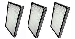 3 Pack for Kenmore EF-1 Exhaust HEPA Vacuum Filter  and for