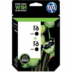 HP Inc. HP 61  2-pack Black Original Ink Cartridges