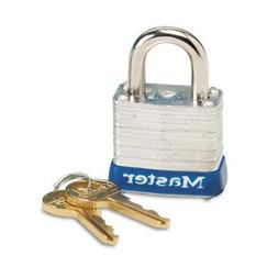 12 Pack Master Lock 7D 1-1/8 Wide Laminated Padlock with 9/1