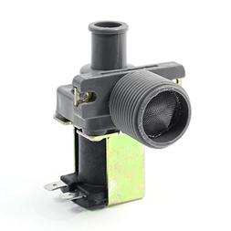uxcell 90 Angle Water Inlet Solenoid Valve 2 Terminals Washi
