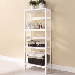ACME Furniture 92096 Meera Shelf Rack, White