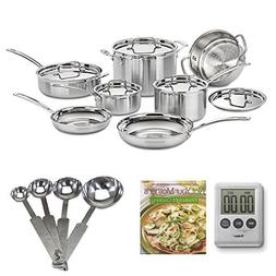 Cuisinart MCP-12N MultiClad Pro Stainless Steel 12-Piece Coo