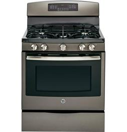 "Ge - 30"" Self-cleaning Freestanding Gas Convection Range - S"