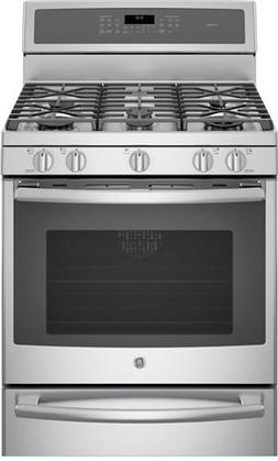 Ge - Profile Series 5.6 Cu. Ft. Self-cleaning Freestanding G